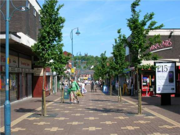 Melbourne Street, Stalybridge in 2007.