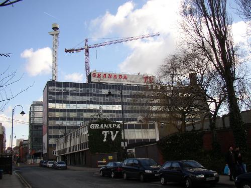 Awaiting new occupants: Ralph Tubbs' iconic Granada Television studios.