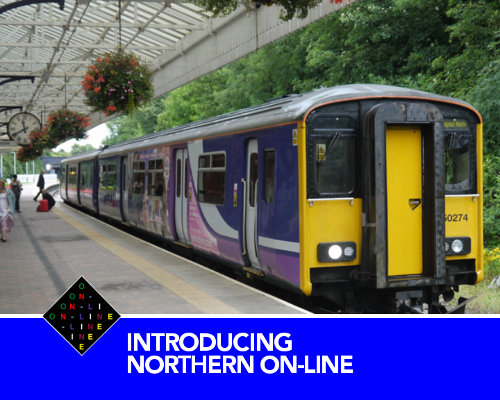 A still from the Northern On-Line tutorial video (available in VHS, Betamax and V2000).
