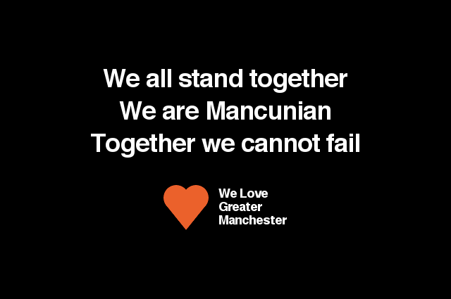 East of the M60 Loves Manchester