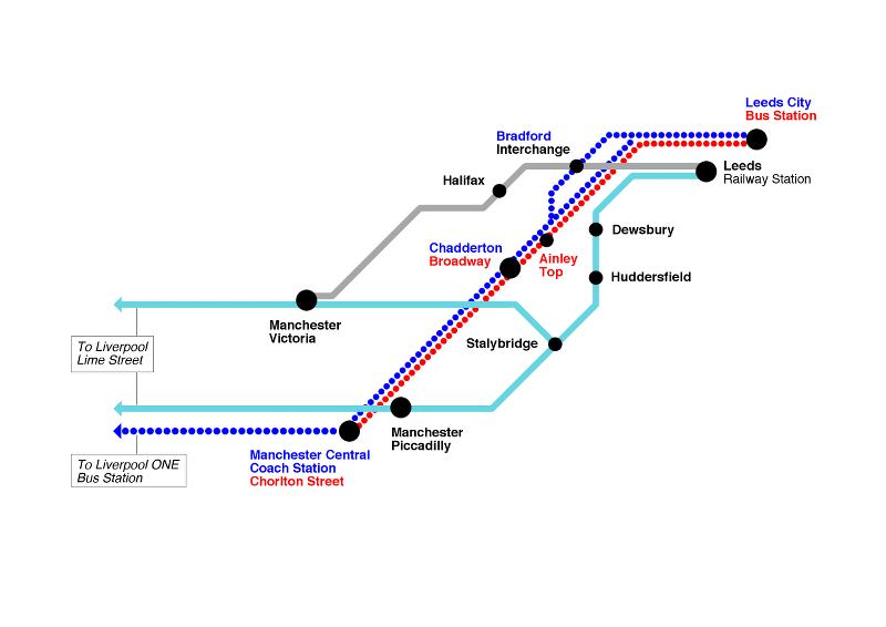 Cityzap comparison map