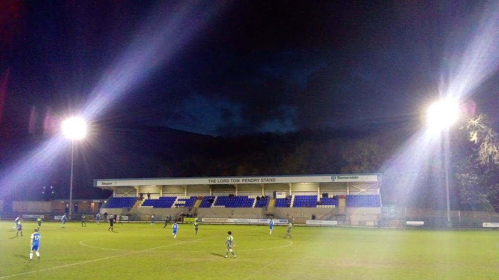 The Lord Tom Pendry Stand, Bower Fold.