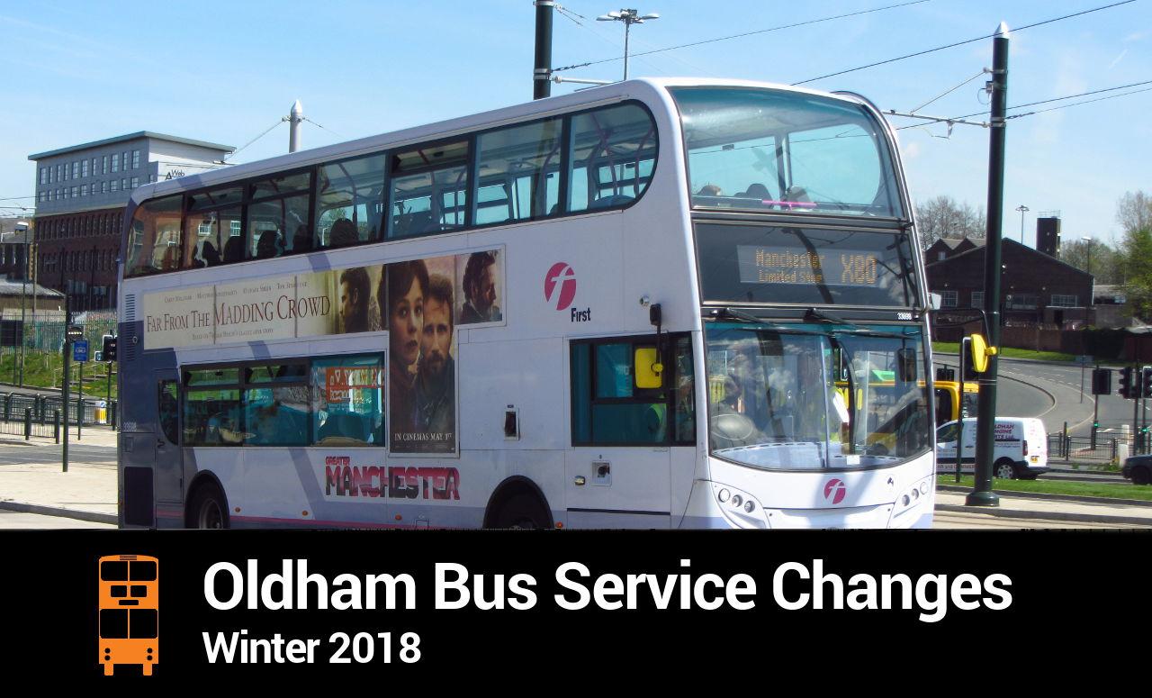 Oldham Bus Service Changes Bumper