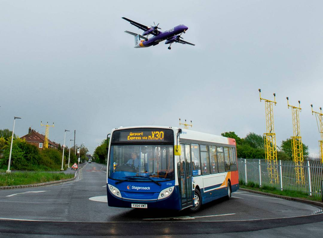 Stagecoach X30 new route