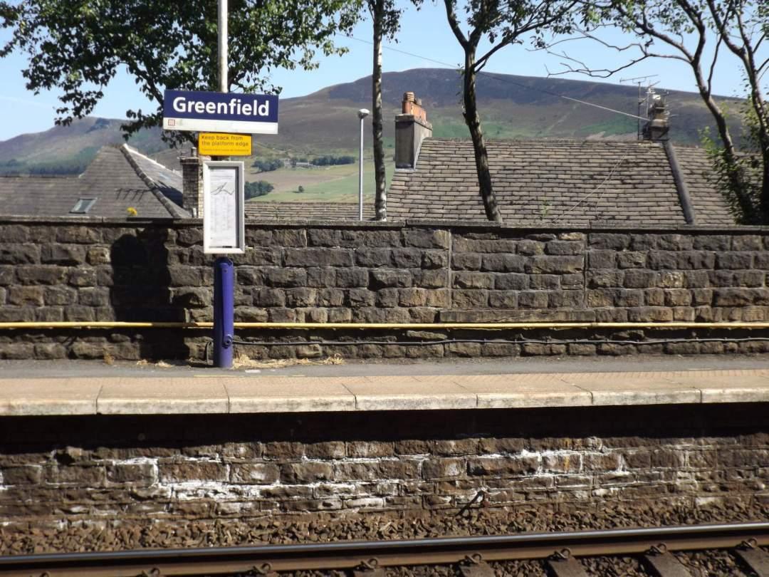 Greenfield Platform Sign, Ian Kirk (2018)