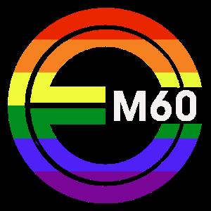 EM60 New Gay Pride Logo Roundel
