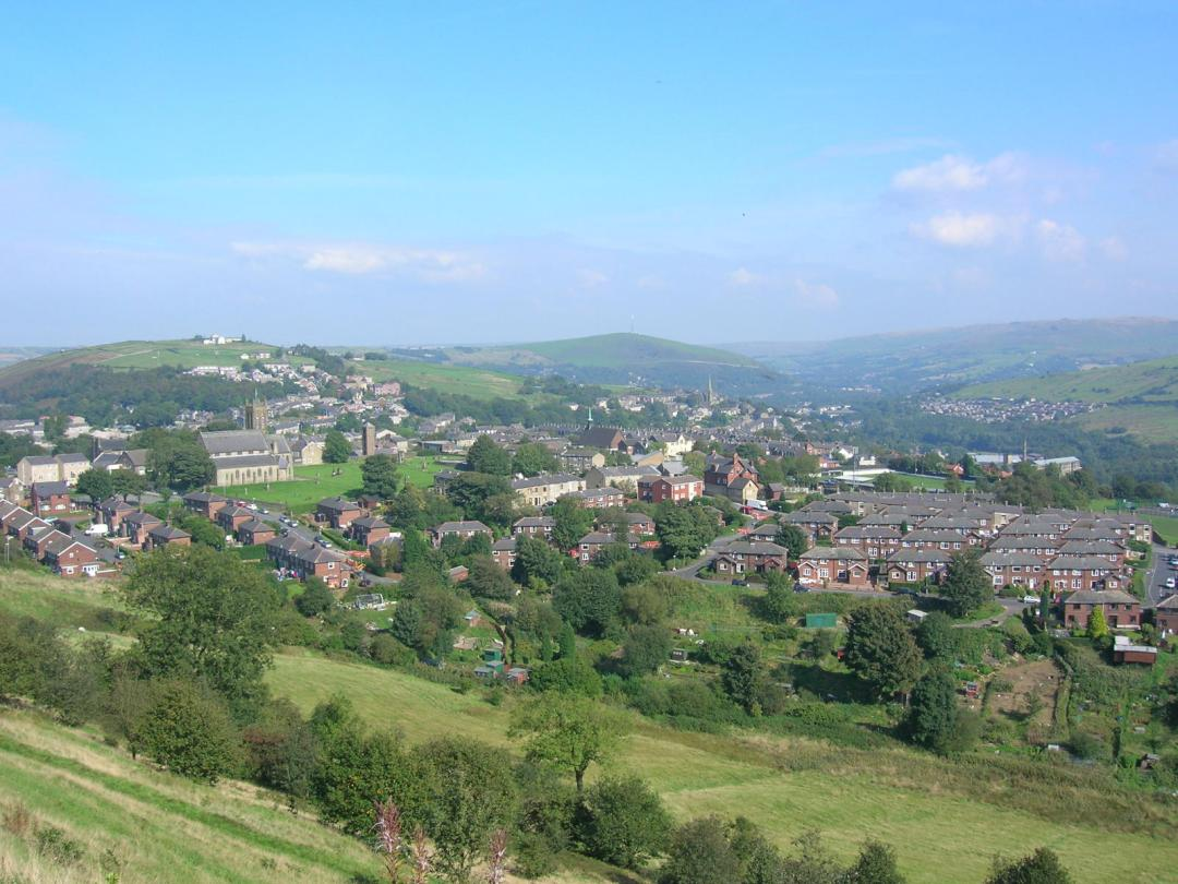 Mossley View, September 2008