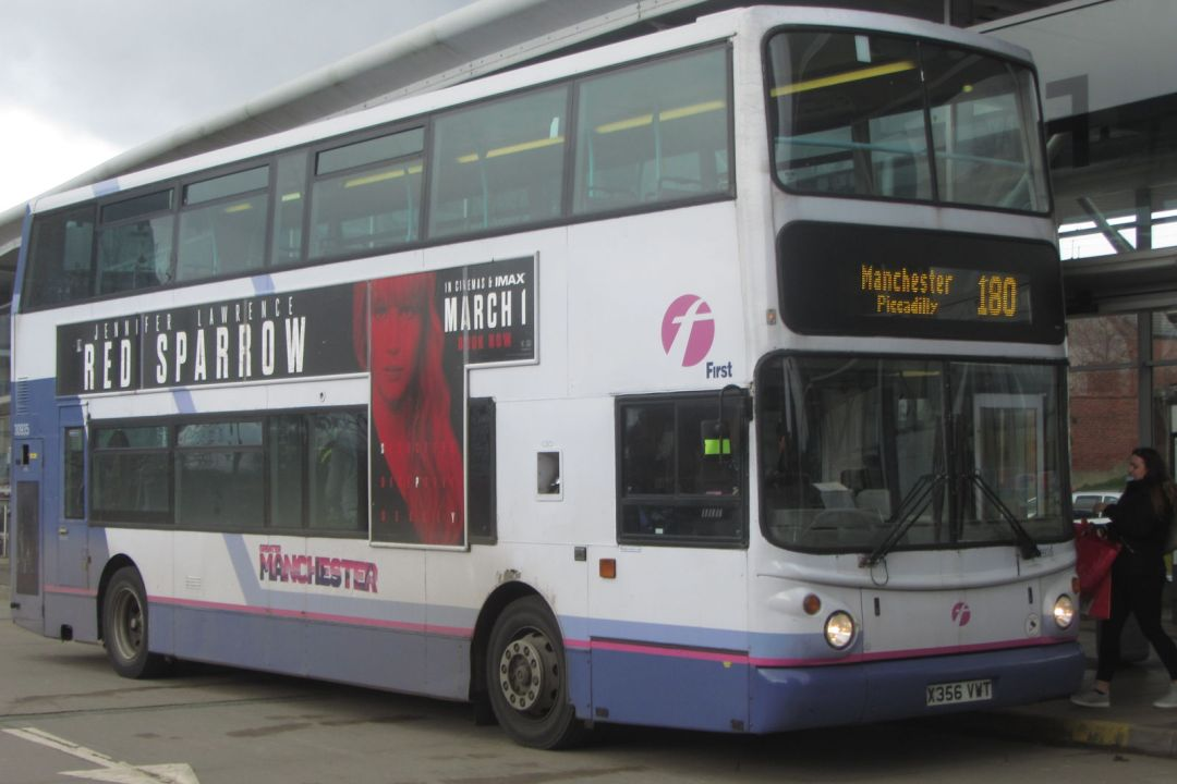 First Greater Manchester Ancient Volvo, Oldham, 2018