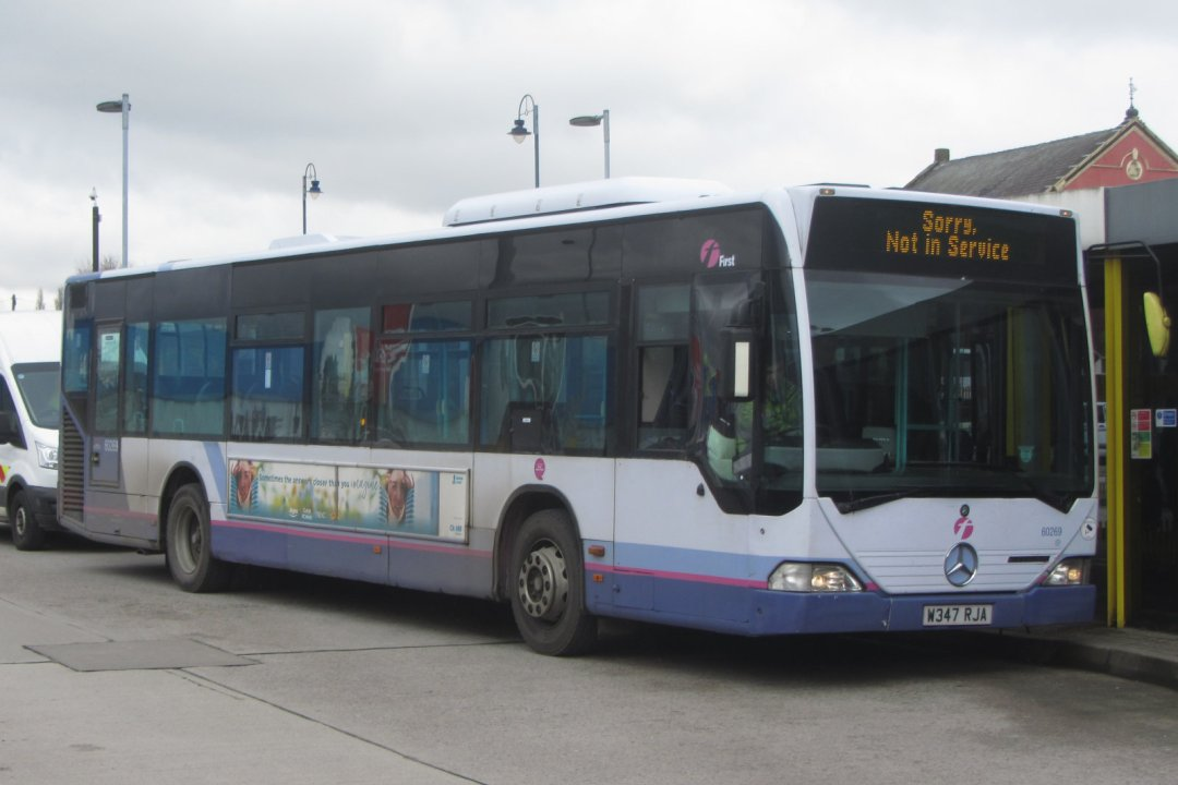 First Greater Manchester Out Of Service Mercedes Citaro, 2018