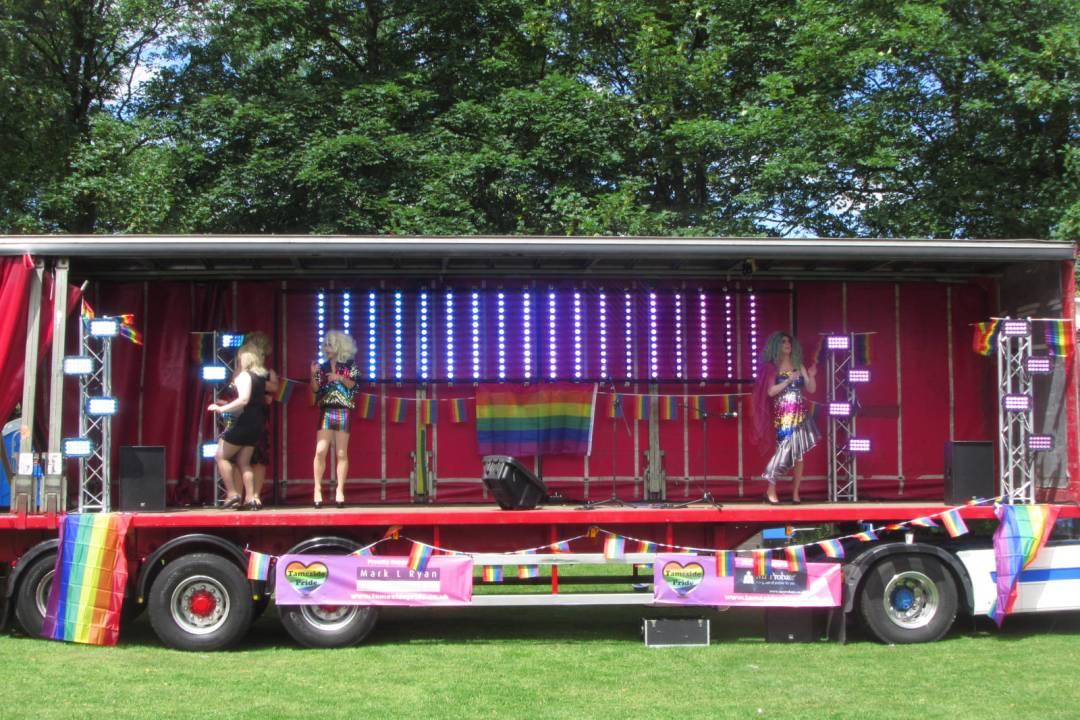 Tameside Pride stage