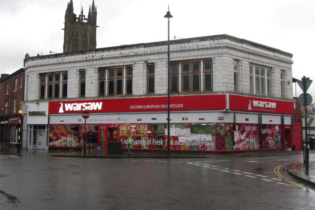 Former Burton Shop, Old Square
