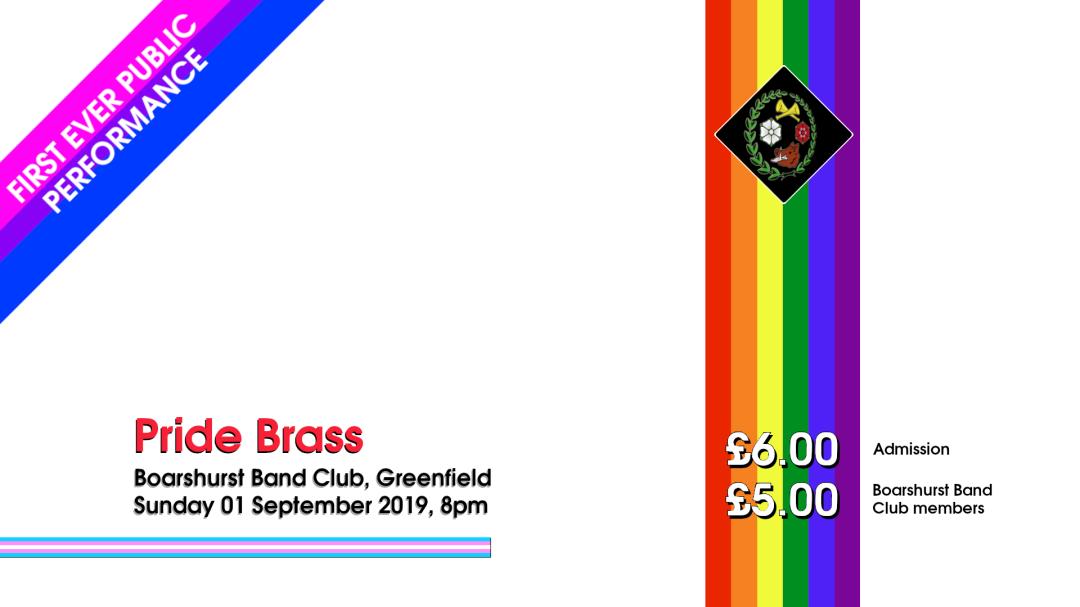 Pride Brass concert advert