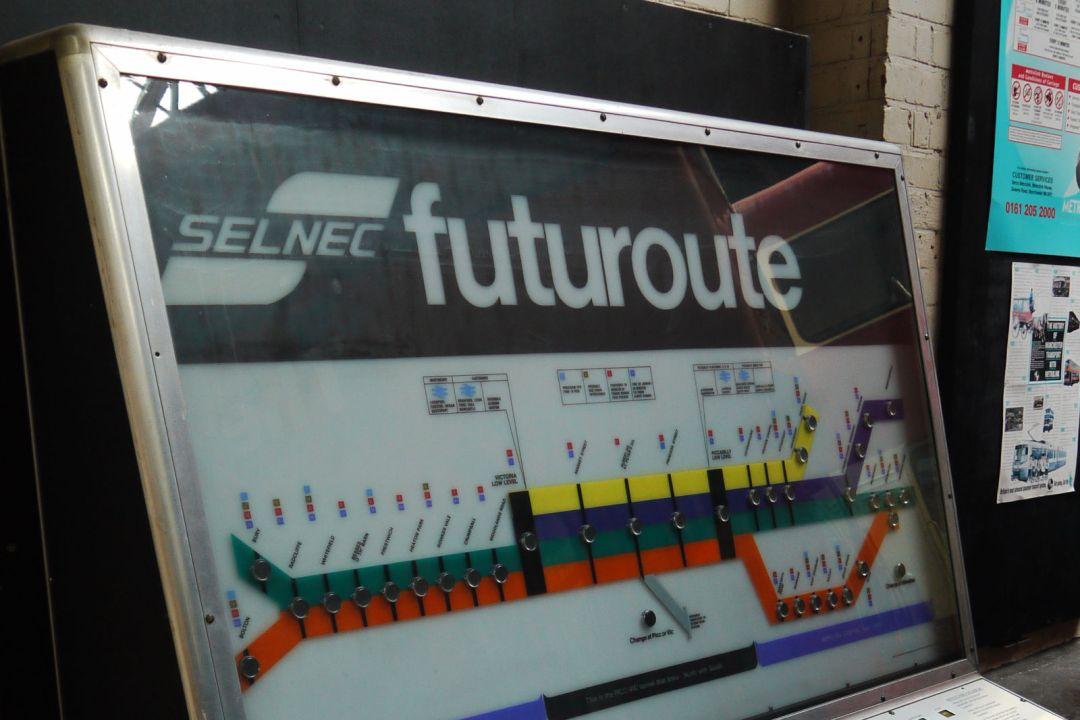 SELNEC Futuroute machine