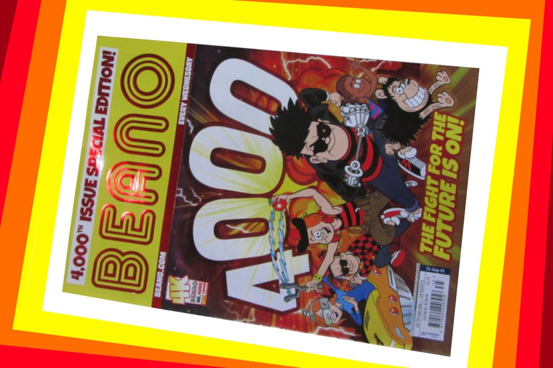 The Beano's 4000th Edition