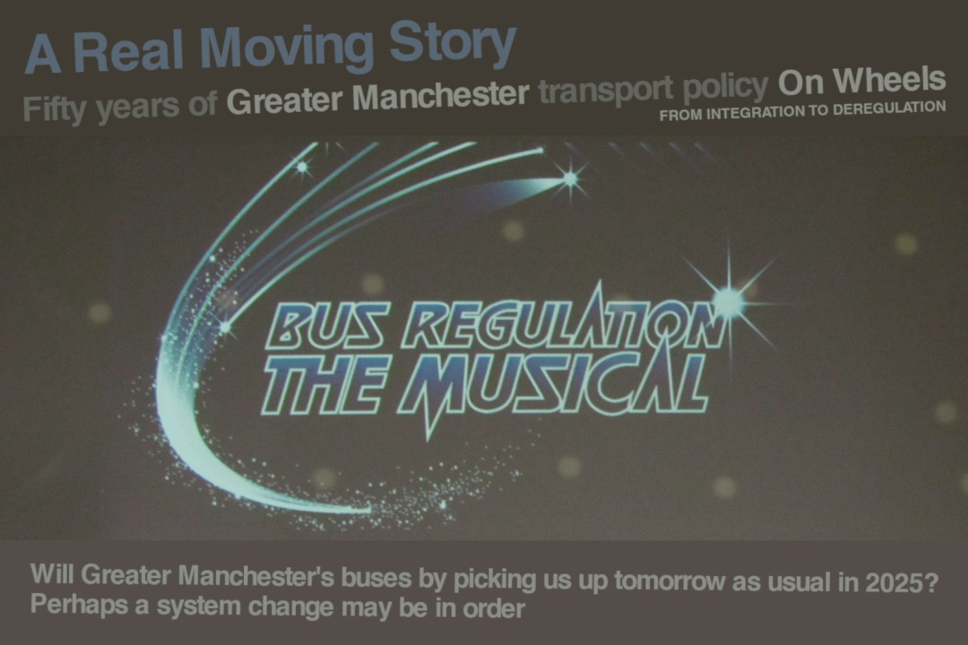 Bus Regulation The Musical graphic