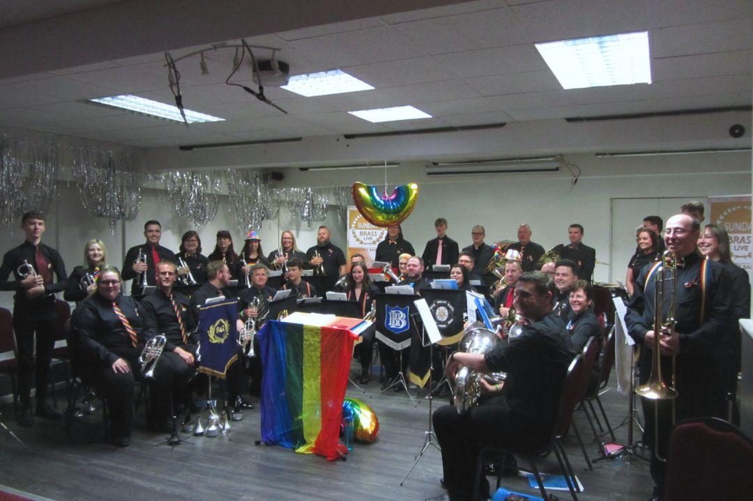 Pride Brass full line up