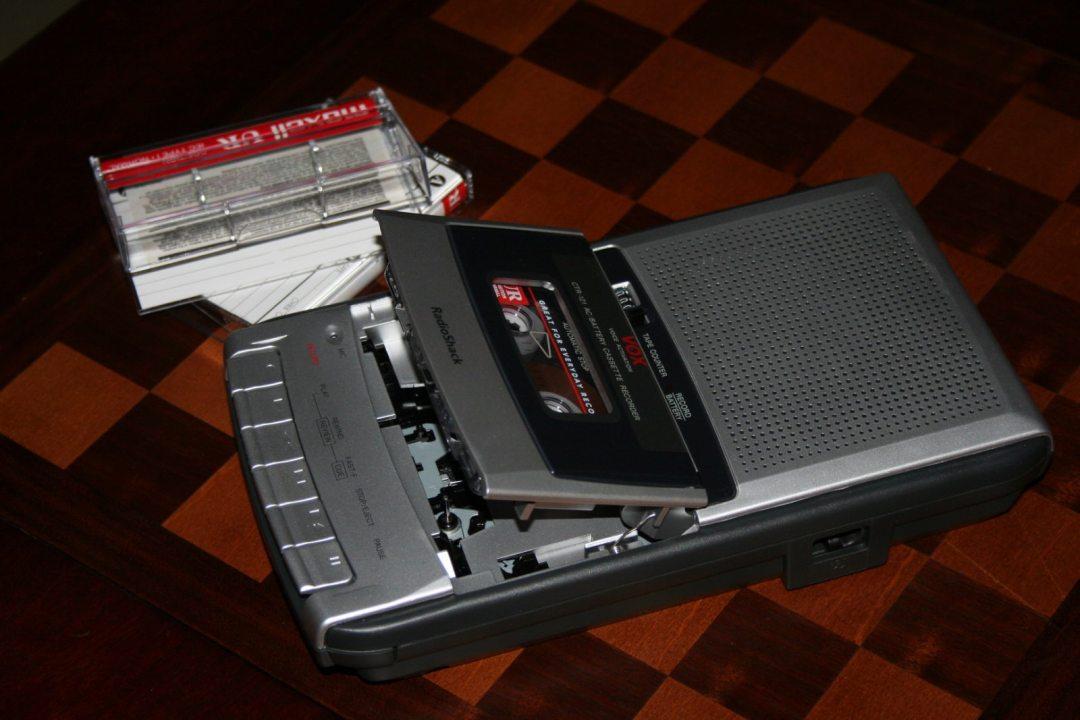 RadioShack Tape Recorder, J. Smith, 2006