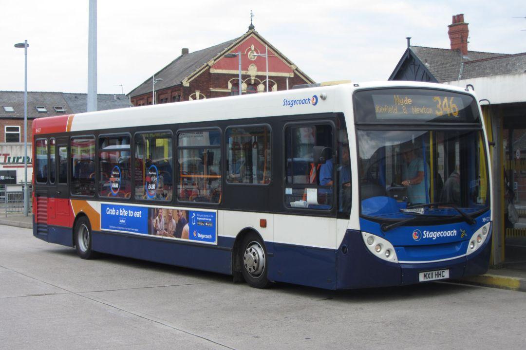 Stagecoach Manchester Enviro200 MX11 HHC, Ashton-under-Lyne bus station