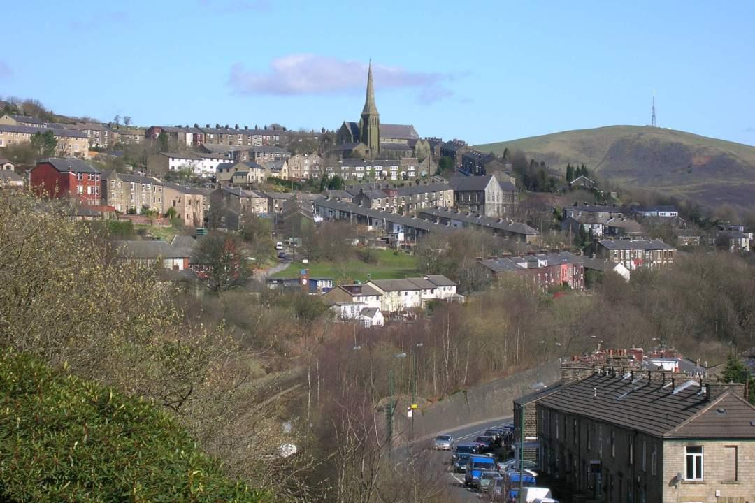 Roughtown view (towards St. John's Church)