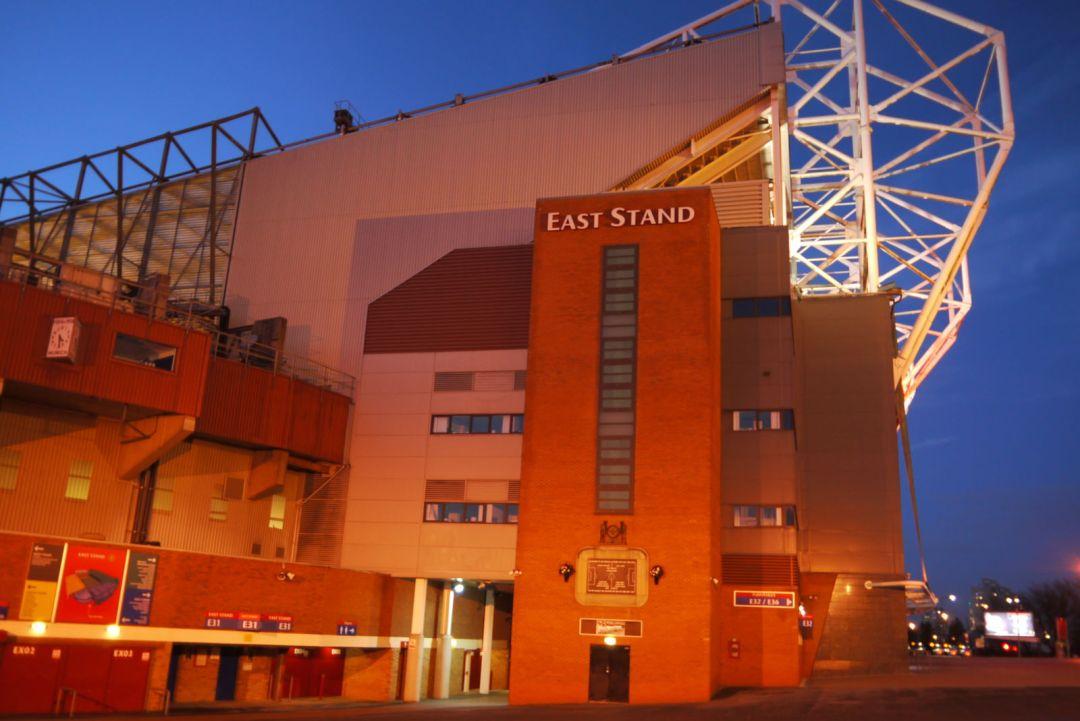 Scoreboard End, Old Trafford
