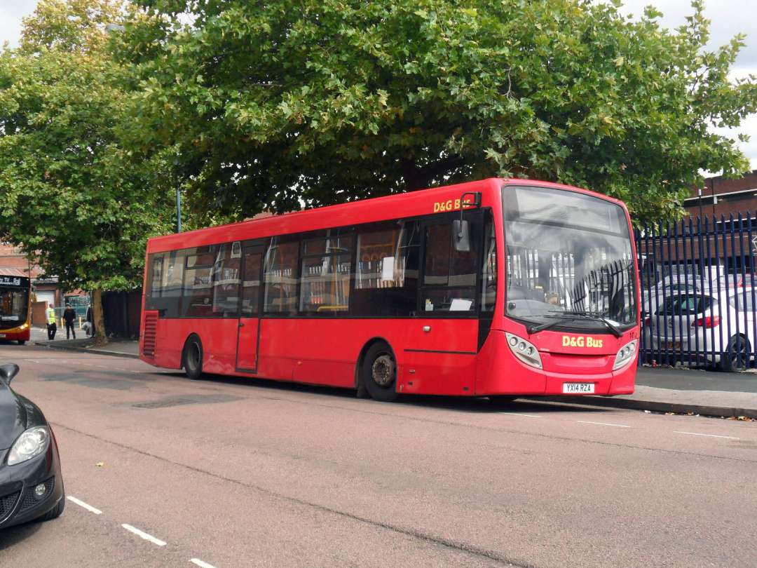 Alexander Dennis Enviro200, D&G Bus, Walsall