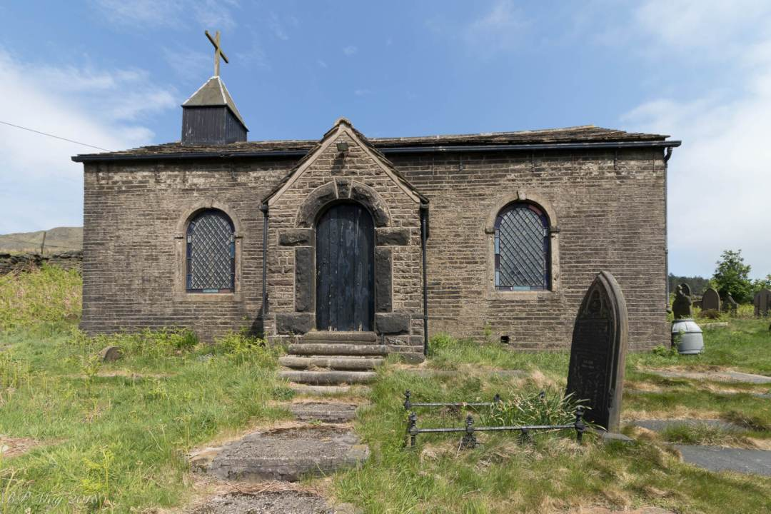 Church Of St James, Crowden (Barrie James, 2018).