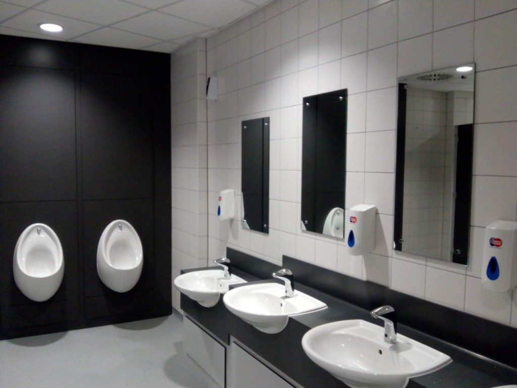 A view of the Gents' Toilets in Ashton-under-Lyne Interchange.