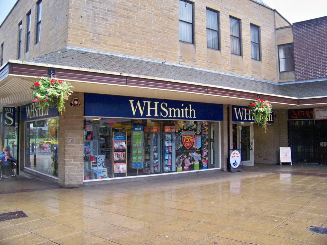 WHSmith Dewsbury, 2009. Image by MTaylor848.
