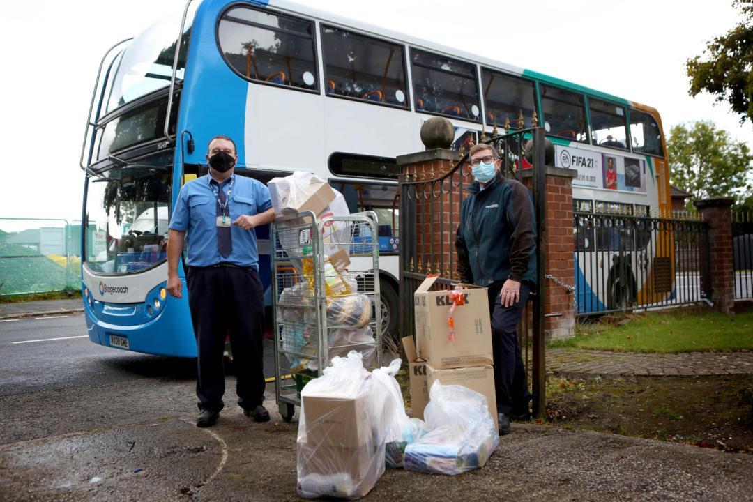 Foodbank Bus Delivery