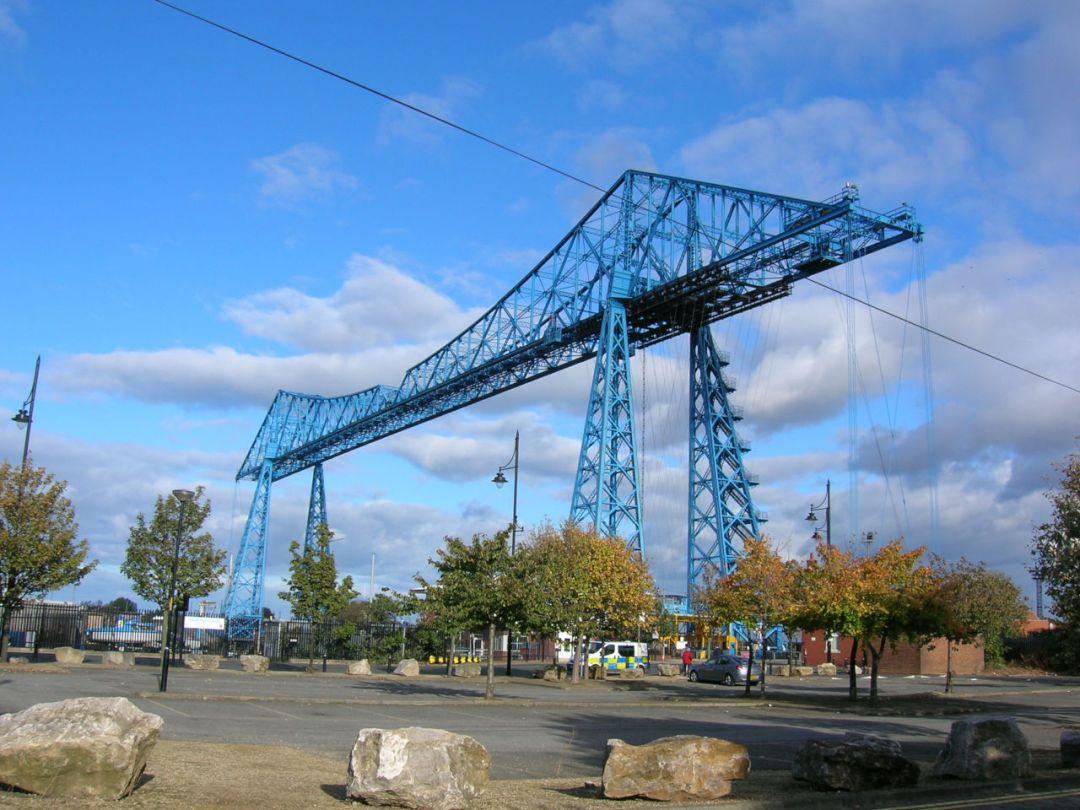 Middlesbrough Transporter Bridge, 11 October 2009