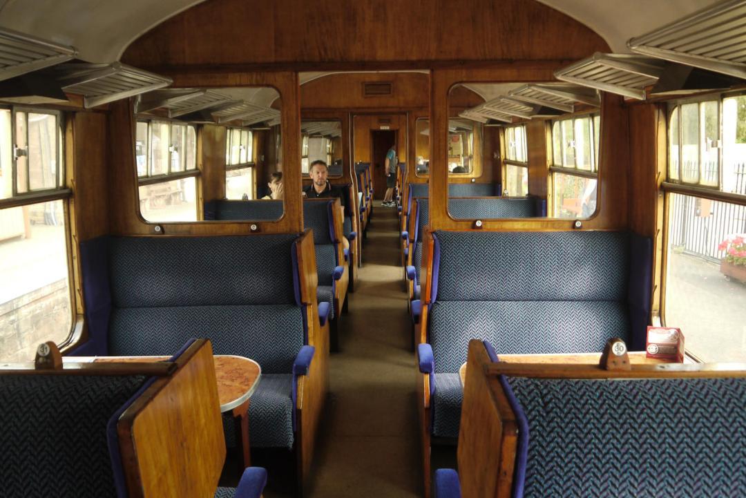 BR Mark I interior